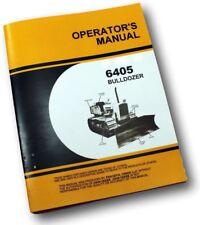 Service Operators Manual For John Deere 450 Crawler Dozer 6405 Bulldozer Only