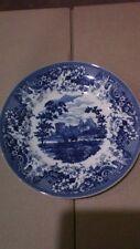 """Lovely Wedgwood Blue and White Collection Queen's Ware Ltd Ed """"Courting Couple"""""""