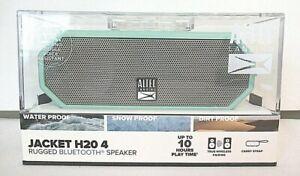 NEW - ALTEC LANSING JACKET H20 4 Rugged Bluetooth Speaker Color Mint - SEALED