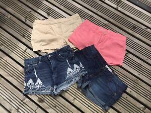 ladies shorts bundle size 14 H&M , Lottie X4