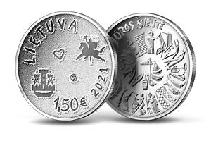 Lithuania 1,50€ the Sea Festival 2021 coin UNC