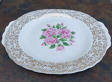 Vintage Sebring Pottery Co. China Bouquet Serving Platter