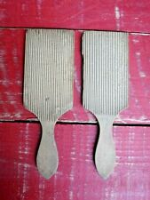Vintage Wooden Butter Making Pats, Butter Making Dairy