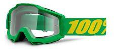 100% Prozent MX Motocross Brille Accuri FORREST KLAR Enduro MTB Kawasaki Grün