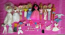 Vintage Mattel Barbie Ken Doll Lot of 10 with Clothes Shoes Accessories