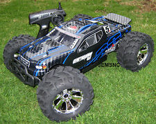 NEW Redcat RC EARTHQUAKE 3.5 NITRO MONSTER TRUCK Radio, Kit, Fuel, X-plug, INCL