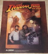 Limited Edition INDIANA JONES Movie Poster rolled Harrison Ford Spielberg Lucas
