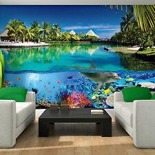 Poster Wandbild Tapeten Fototapete Natur Wasserfall Wasser Hawaii 3fx3356p4
