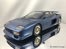 GT Spirit Koenig Specials Ferrari Testarossa Bi-Turbo Twin Turbo Blue 1/18