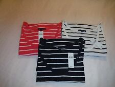 Sleeveless Scoop Neck T-Shirts Gap XL,L,Some Color Striped 100% cotton NWT