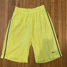Boys Nike Shorts Size Xl Basketball Neon Euc