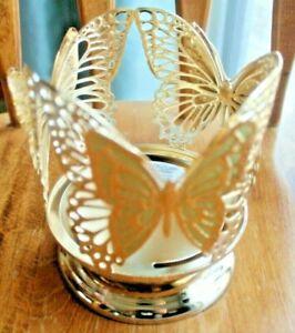 2021 Bath and Body Works BUTTERFLY BUTTERFLIES Pedestal JAR HOLDER ~~NEW~~