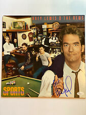 Huey Lewis Signed/autographed record/album/vinyl The News JSA M94392