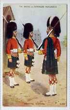 (Ly495-175) Argyll & Sutherland Highlanders, Relieving Sentries,  Unused EX