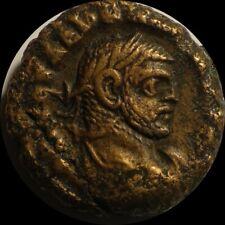 Aurelian 273AD Ancient Tetradrachm Alexandria Egypt Roman Coin condition bronze