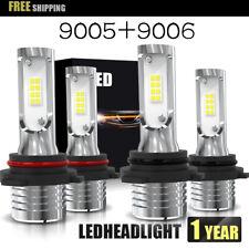 9006+9005 LED Headlight 160W 3200LM Hi-Lo Beam Combo Kit 6500K  Lamp Power