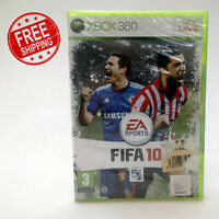 Fifa 10 Football Videogame   Microsoft XBOX 360 Game   Brand New and Sealed