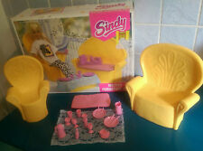 Sindy Doll Wicker Furniture Bundle Vintage 1990'S Toys Boxed  Vgc