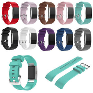 Para Fitbit Charge 2 Recambio Cómodo Correa Reloj Inteligente Banda
