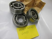 Suzuki GT550 nos main crankshaft bearings  1972-1977   09269-25010