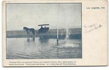 California-Real Estate-Los Angeles-Antelope Valley-Water Well-Antique Postcard