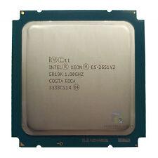 Intel Xeon E5-2651 V2  SR19K 12 Core 1.80GHz 30MB L3Cache Socket LGA2011 CPU