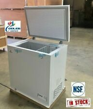 NEW Solid Top Chest Freezer Storage Cabinet NSF 5 Cu Ft - Free Home Delivery