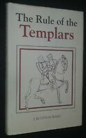 The Rule of the Templars by J.M. Upton-Ward Masonic History 2nd Printing