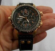 Men's Hamilton Automatic Watch Wristwatch & Box Case Khaki X-Wind H776961 Chrono
