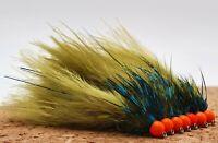 Hothead Damsel Variant Size 10 Short Shank (Set of 3) Fly Fishing Flies