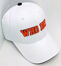 Cincinnati Bengals Hat WHO DEY Embroidery by Reebok