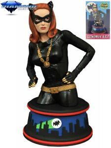 Diamond Select Toys DC Batman 1966 TV Series Julie Newmar as Catwoman Bust New