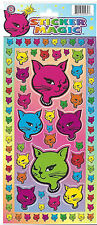 Cat Cathead Sticker Sheets Lot of 2 Winking Cat Head Classic Stickers Over 160ct