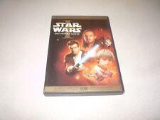 STAR WARS  : EPISODE 1 THE PHANTOM MENACE (DVD,2005) 2 DISC SET - LIAM NEESON