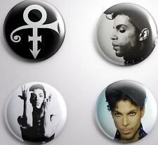 4 PRINCE THE ARTIST - Badge Button Pin 58 mm 2 1/4''