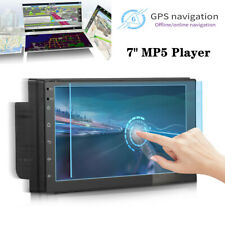 """1DIN 7""""Touchable Screen Car 2 USB Multimedia MP5 Player Radio Stereo FM BT Ports"""