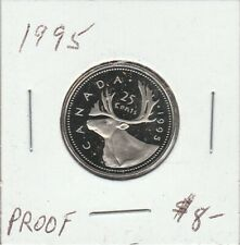 Canada 1995 25 Cents Proof
