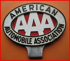American Automobile Association AAA car badge