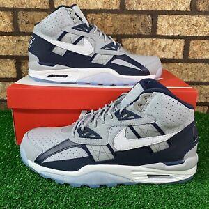 ✅ Nike Air Trainer SC High (DM8320-001) 'Georgetown' Navy/Grey Sneakers ✅