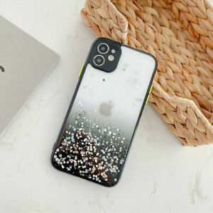 Glitter Powder SHOCKPROOF Case For iPhone 12 11 Pro XR XS Max 8 7 + Hard Cover