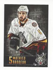 2014-15 Chicago Wolves (AHL) Mathieu Brodeur (Syracuse Crunch)
