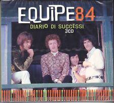 3 CD ♫ Audio Box EQUIPE 84 ~ DIARIO DI SUCCESSI ~ IL MEGLIO ~ THE BEST OF nuovo
