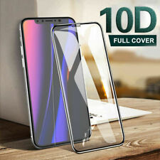 Screen Protector for iPhone 11 XR X Pro Max Curved 10D FULL COVER TEMPERED GLASS