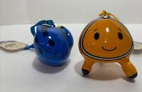 New Finding Nemo And Dory Hallmark Xmas Ornament Itty Bittys Disney Fish Pixar
