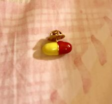 Marc Jacobs Pill Yellow Red Acessory Pin Charm