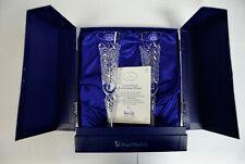 More details for royal doulton ltd ed millennium lead crystal celebration flutes, air-twist stems