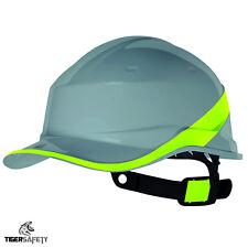 Delta Plus Grey Baseball Diamond V Hard Hat Helmets Bump Cap Construction PPE