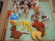 Group of 11 Soft Fabric Toy Animal Figures - Lot 1