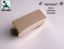 G.M. SongBird Firebird Type Neck Pickup Alnico Magnets Gold