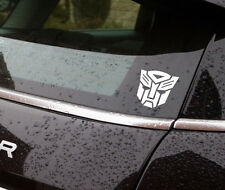 "autobot vinyl sticker white  4""high also available in black car/window"